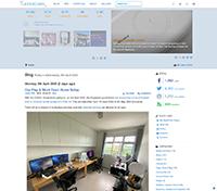 Lester Chan's Website 4.0 - Screenshot #1